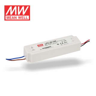 MeanWell LPC-Serie - LED-Treiber LPC-20-700 IP67 | Class2 9-30V/700mA CC