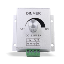 LED Dimmer für LED-Stripes DC12V-24V 8A Stufenloser Regler
