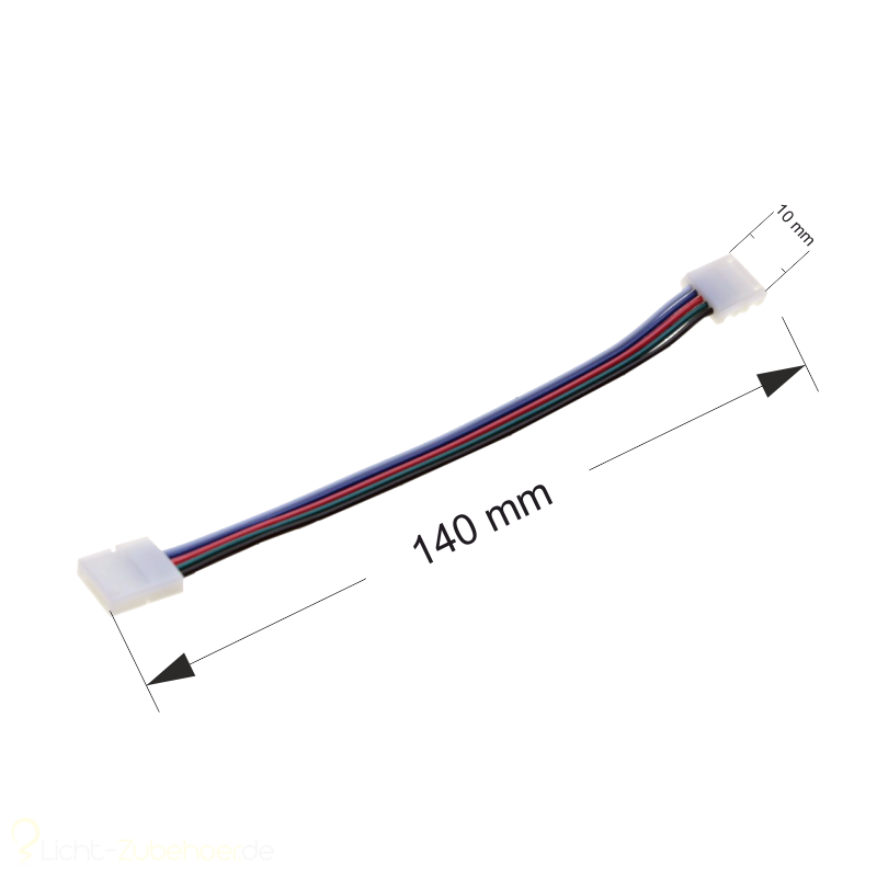 Led Strip RGBW 5 Pin Verbinder / Connector 2x Clip
