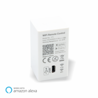 Mi-Light WiFi WLAN Steuergerät Bridge 2.4G für iPhone/Android  | Amazon Alexa
